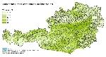 Waldanteil der Gemeinden in Österreich in Prozent
